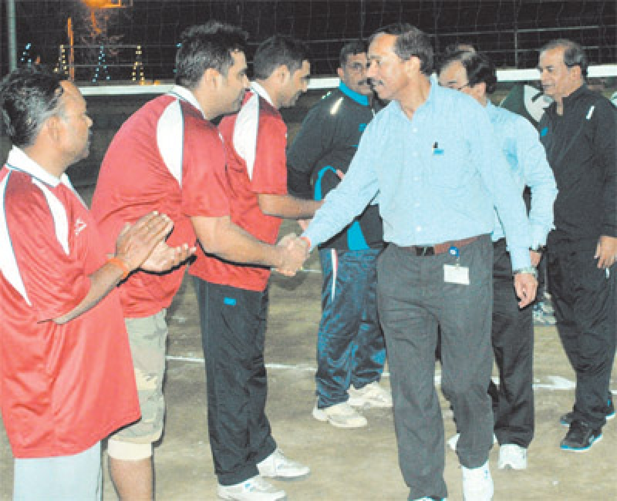 Indore: NTPC organises inter-centre volleyball tournament
