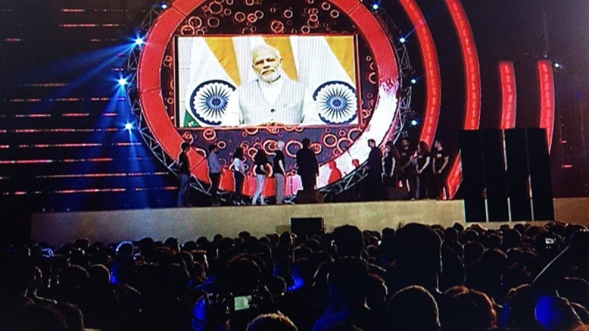 Global Citizen Festival: PM Modi addresses youth via video conferencing