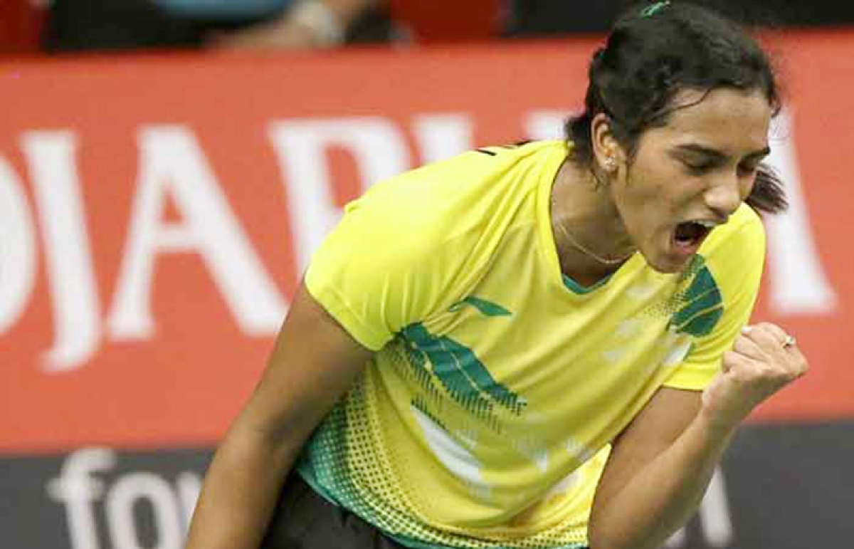 Sindhu thrills : Beats Sung Ji Hyun of Korea to enter the China Open final