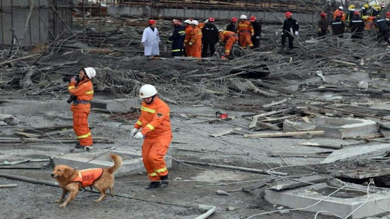 17 held for power plant accident in China as toll mounts to 74