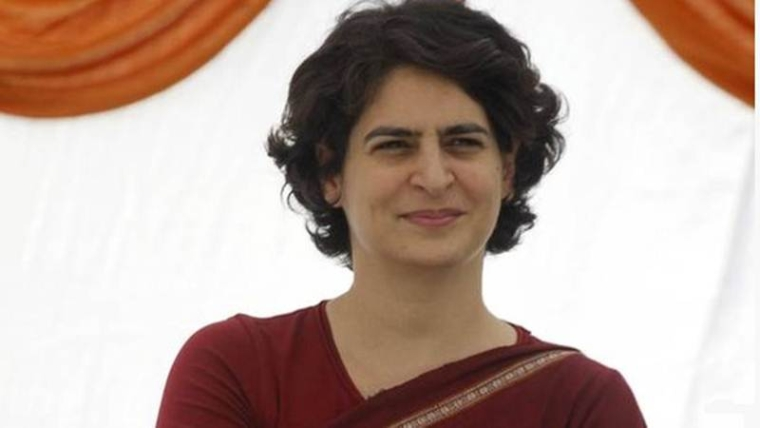Priyanka Gandhi in Congress list of  star campaigners for UP