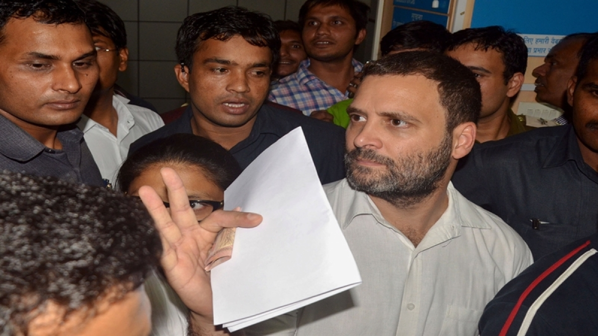 """Rahul slams Modi: Why no """"suit-boot"""" person languishing in line to exchange notes?"""