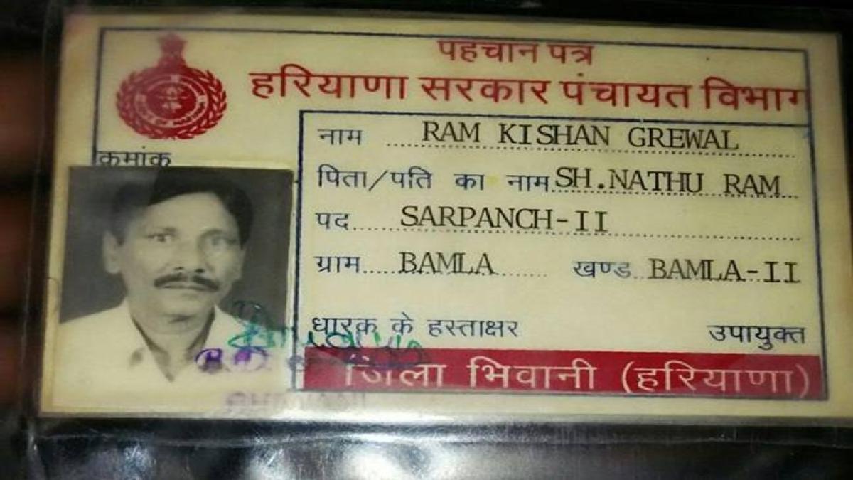Ex-serviceman Ram Kishan Grewal commits suicide over OROP