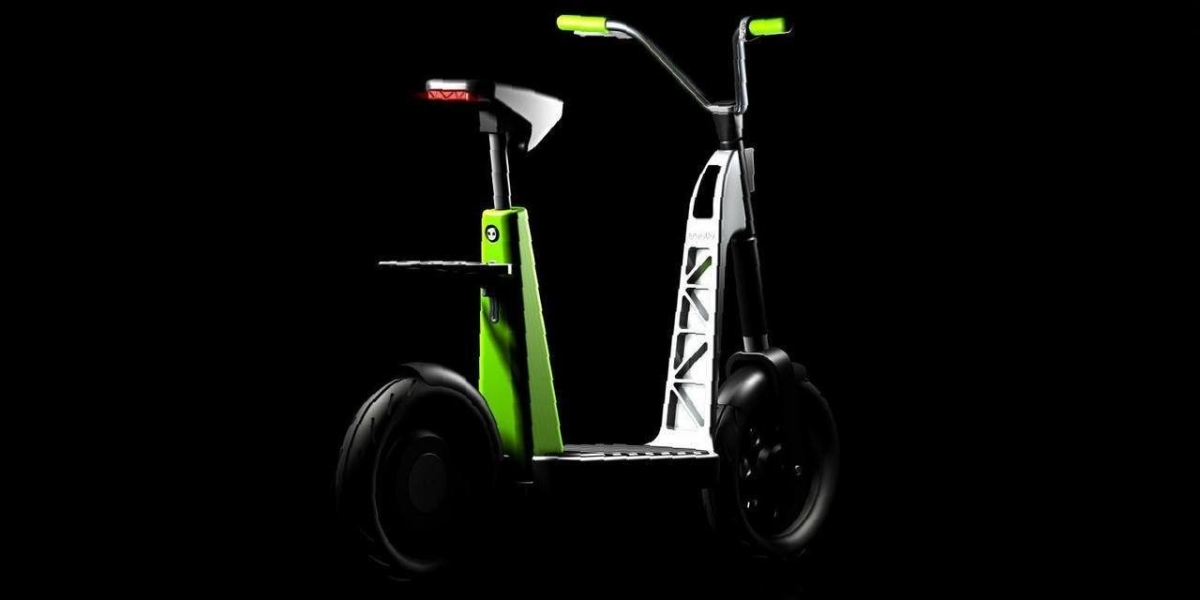 Self-driving scooter that works indoors as well as out