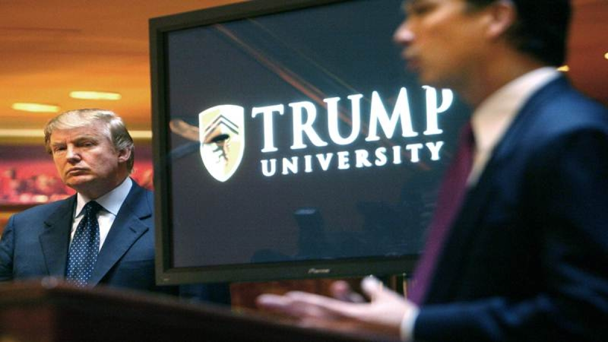 Trump agrees to USD 25M settlement to resolve Trump University lawsuits