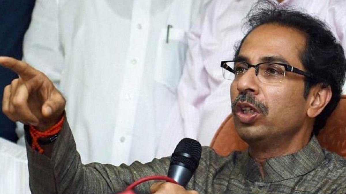 Mumbai: Shiv Sena chief Uddhav opposes Union budget during assembly polls