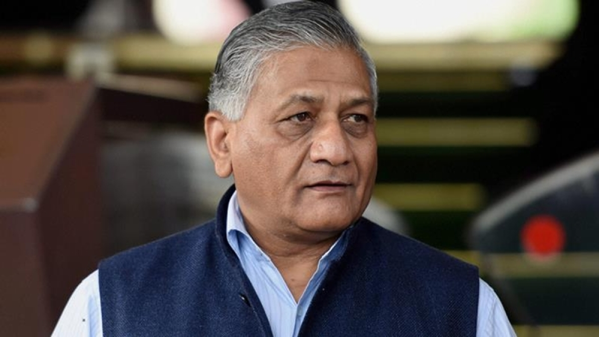 "Ex-servicemans son hits back at VK Singh, says ""my father was not from any party"""