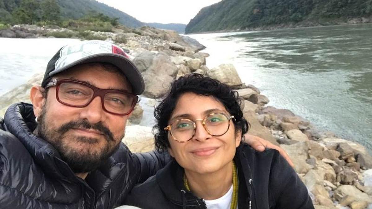Aamir Khan, Kiran Rao holiday in Arunachal Pradesh