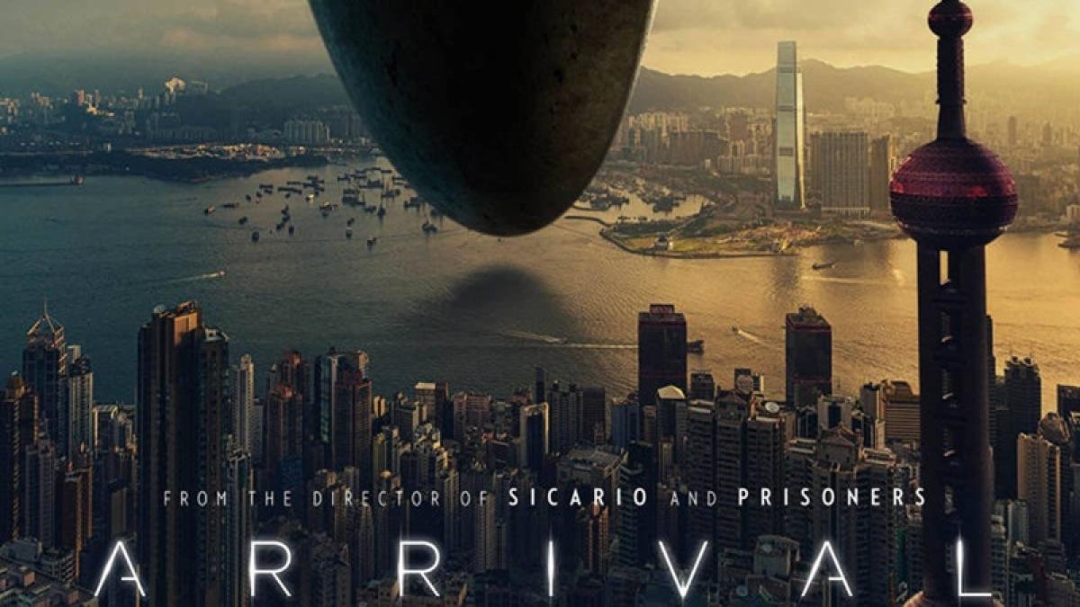 Arrival: thoughtful sci fi drama