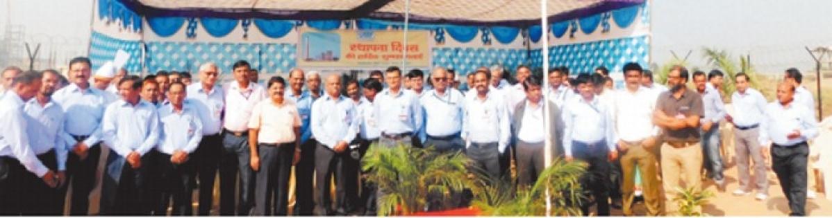 NTPC foundation day celebrated at Gadarwara