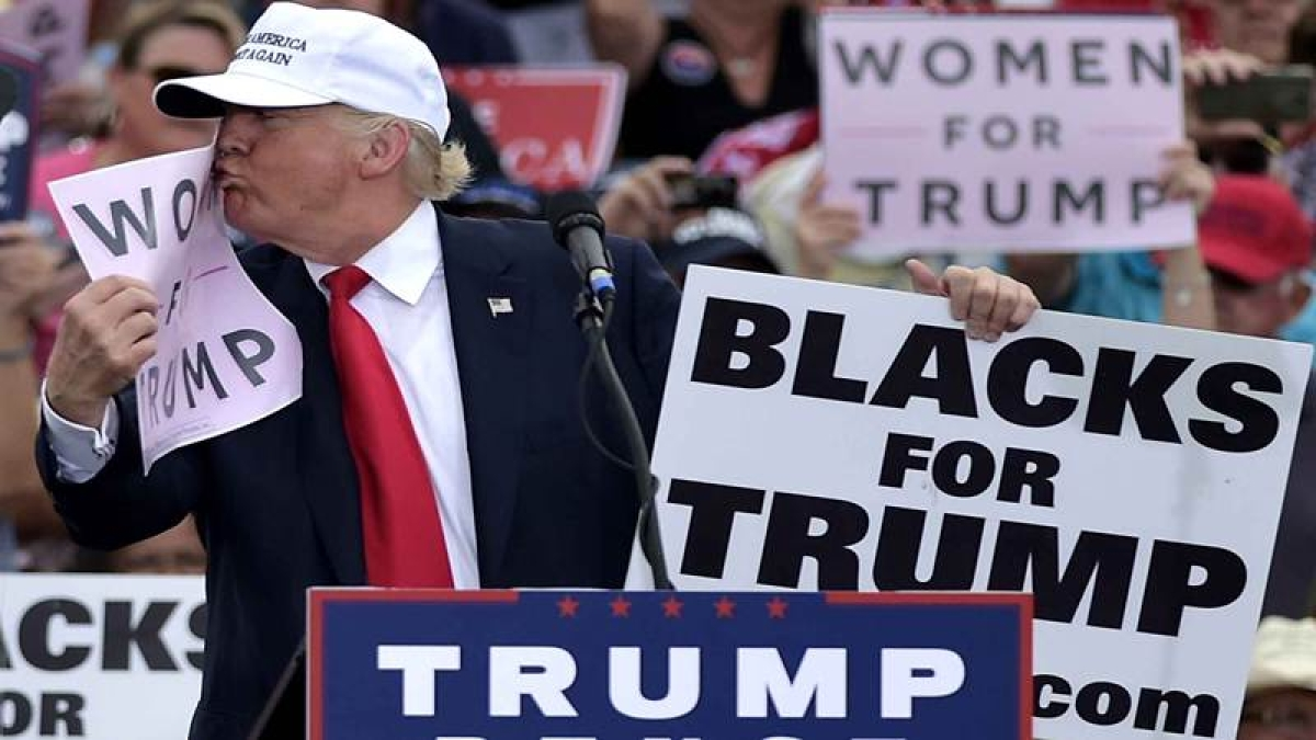 Trump fared well with women voters despite sex assault claims