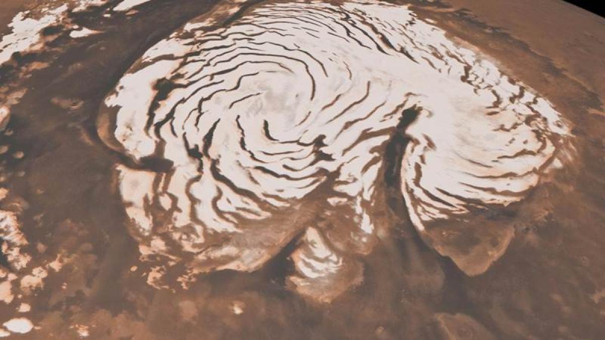 Huge deposit of frozen underground water found on Mars