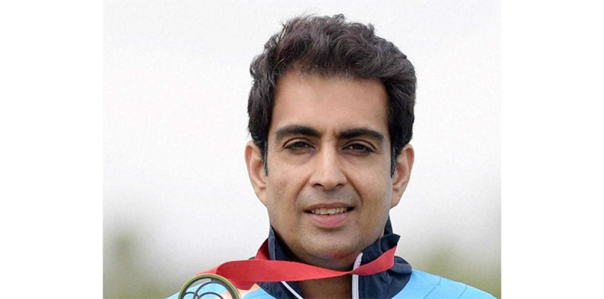 Manavjit traps gold at National Shooting Championship