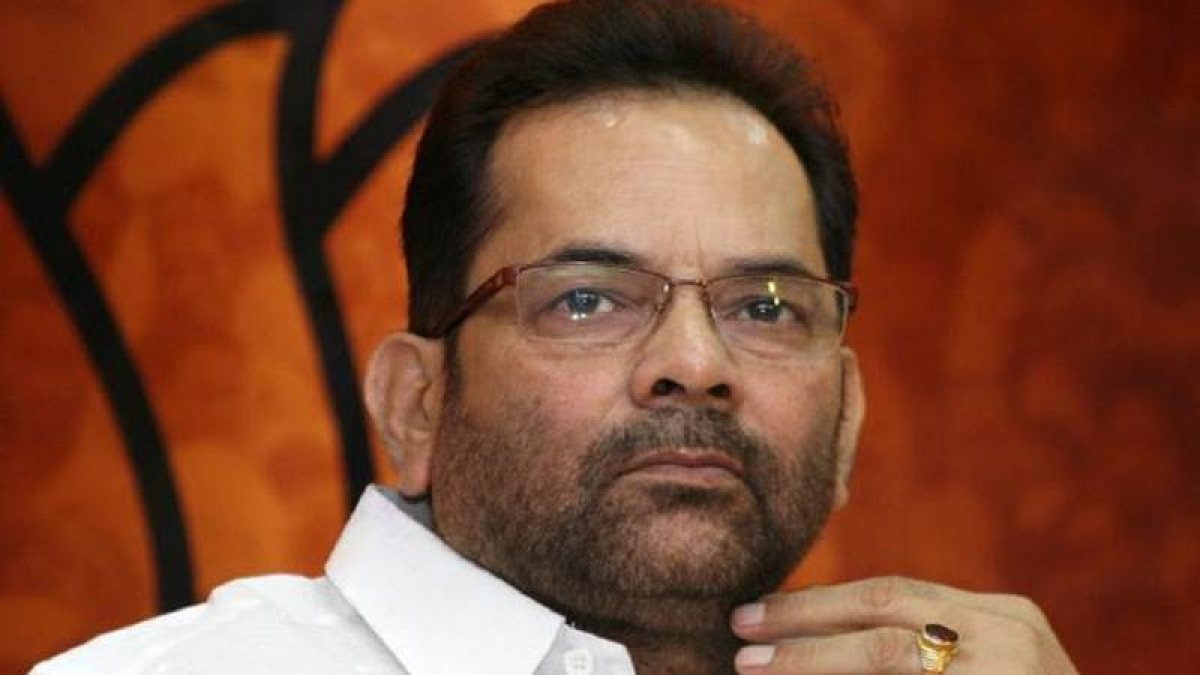 Congress running away from discussion on demonetisation: Mukhtar Abbas Naqvi