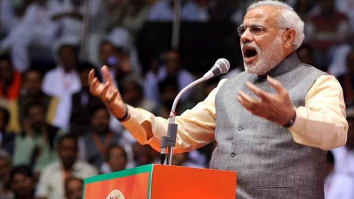 Rs 500 Rs 1,000 notes won't be legal tender: Modi
