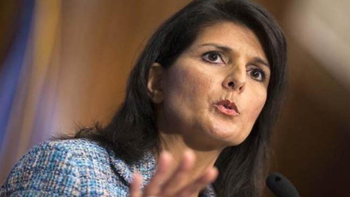 Haley expresses solidarity with Kerala flood victims