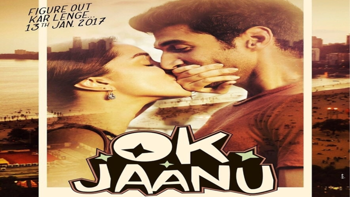 Shraddha and Aditya kiss but they don't in 'OK Jaanu's first poster