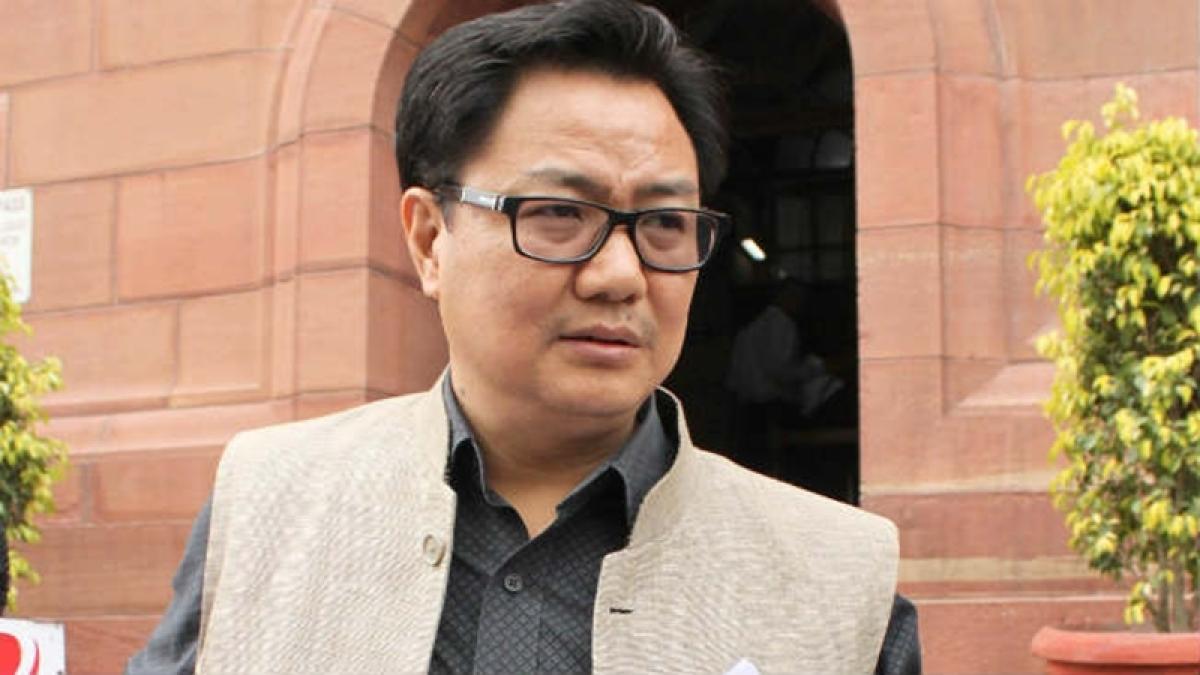 India will issue Red Corner notice against Masood Azhar, says Kiren Rijiju