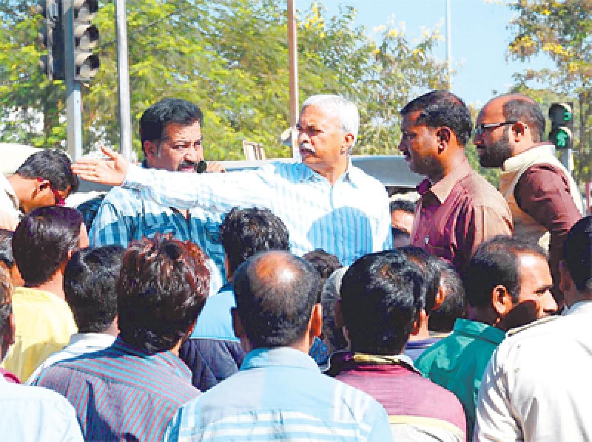 Bhopal: MLA creates ruckus the second day