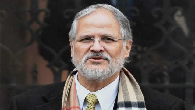 Delhi Lieutenant Governor Najeeb Jung comes out of PMO (South block) after a meeting with Prime Minister Narendra Modi in New Delhi. File pic