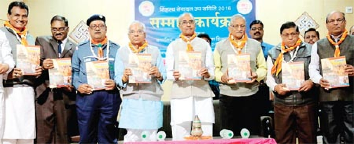 Seva Dal members feted for exemplary services during Simhastha
