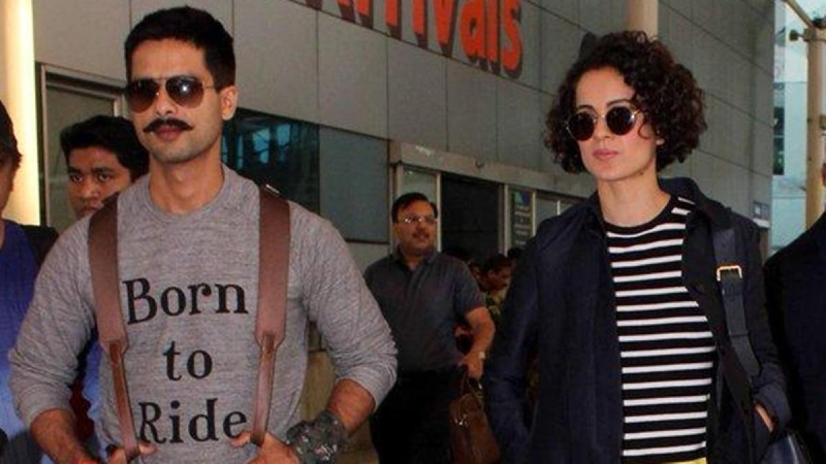 No issues with Rangoon co-star Kangana Ranaut, Says Shahid