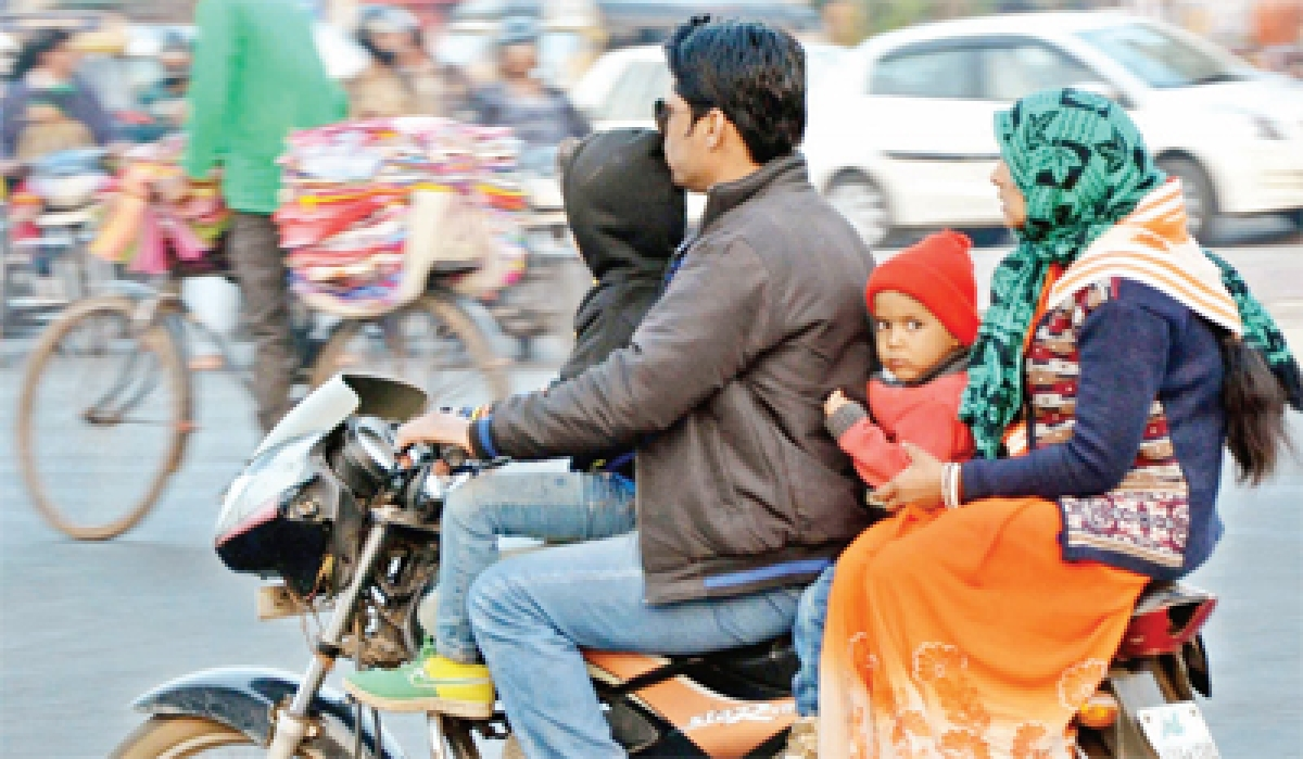 Temperature rises by few notches, biting cold persists in Bhopal