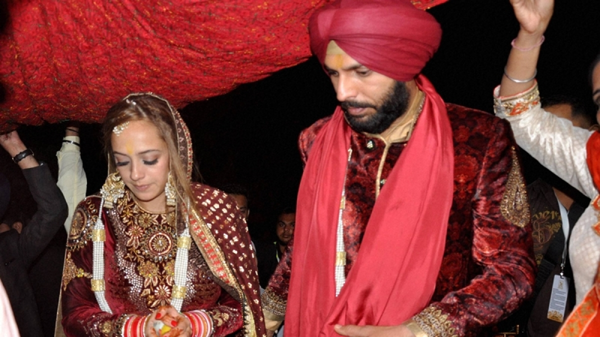 In pics: Yuvraj Singh and Hazel Keech tie the knot in Chandigarh
