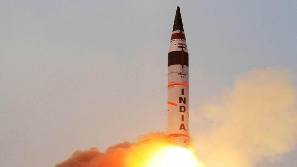 India successfully test fires Agni II ballistic missile off Odisha coast