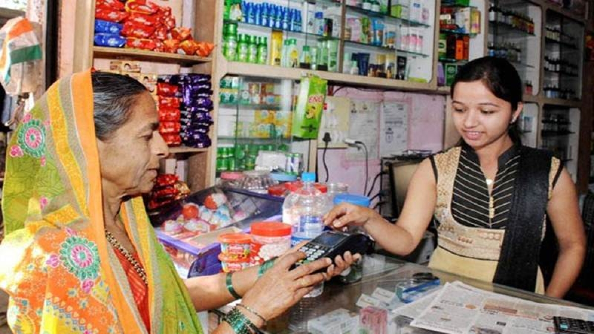 Less tax for small traders on digital transactions: Govt