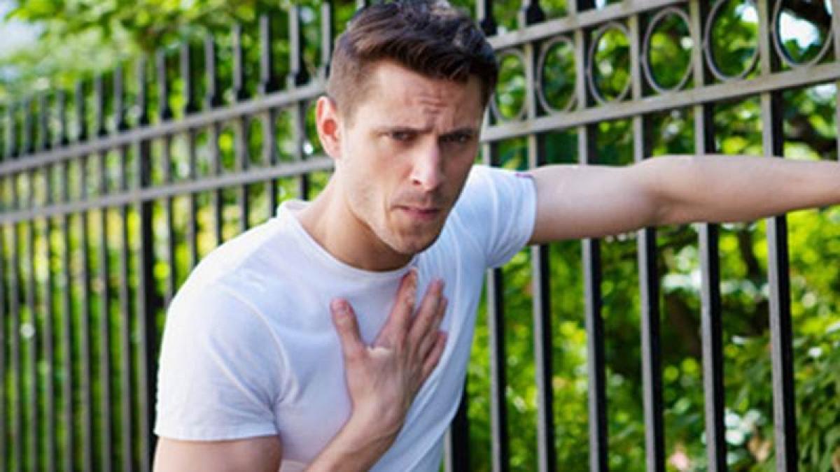 Shortness of breath may be symptom of heart failure