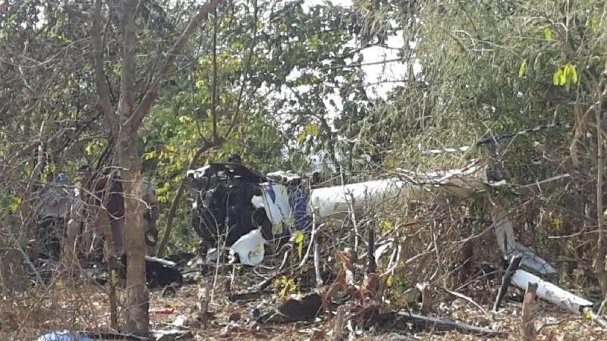 Hyderabad: Kiran trainer aircraft of Indian Air Force crashes; woman pilot safe