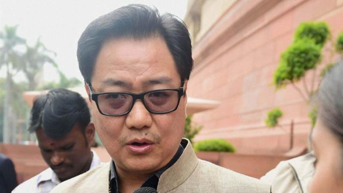 NDA government committed to good governance: Kiren Rijiju