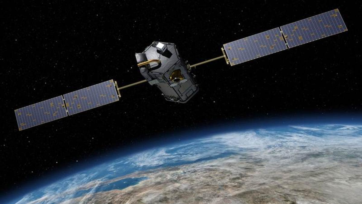 NASA space laser maps polar ocean plants key to life