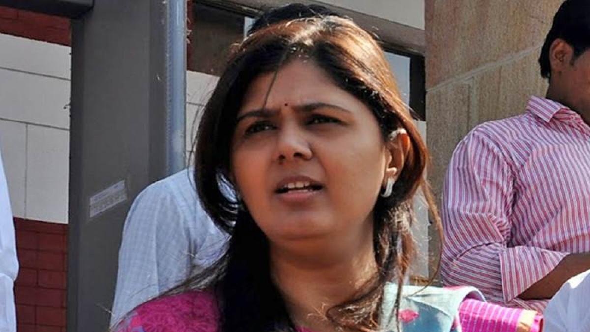 Controversy establishes me as OBC leader: Pankaja Munde