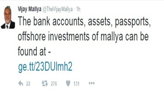 After Rahul Gandhi, Legion now hacks Vijay Mallya's Twitter