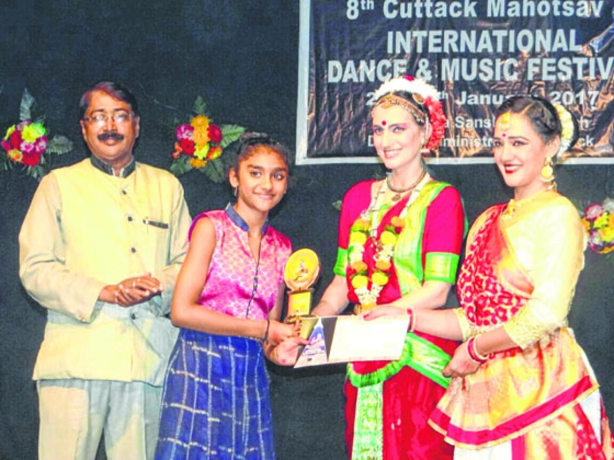 Ujjain: National Baal Nrityashri Award to city girl