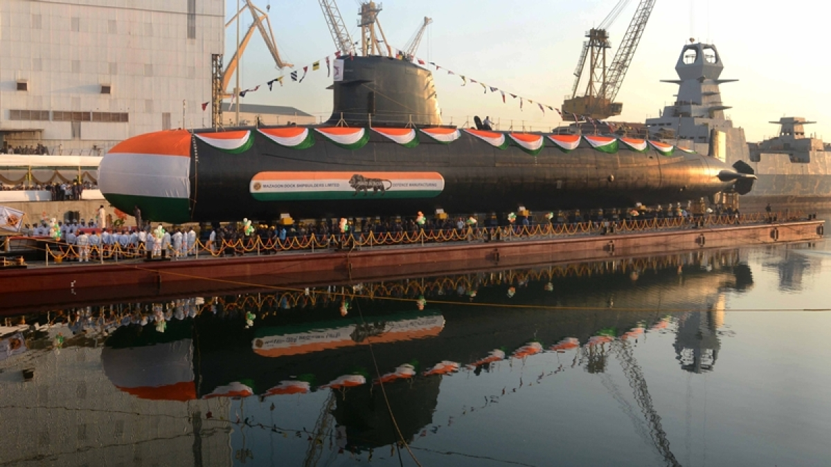 Rs 40,000 crore project to construct 6 submarines