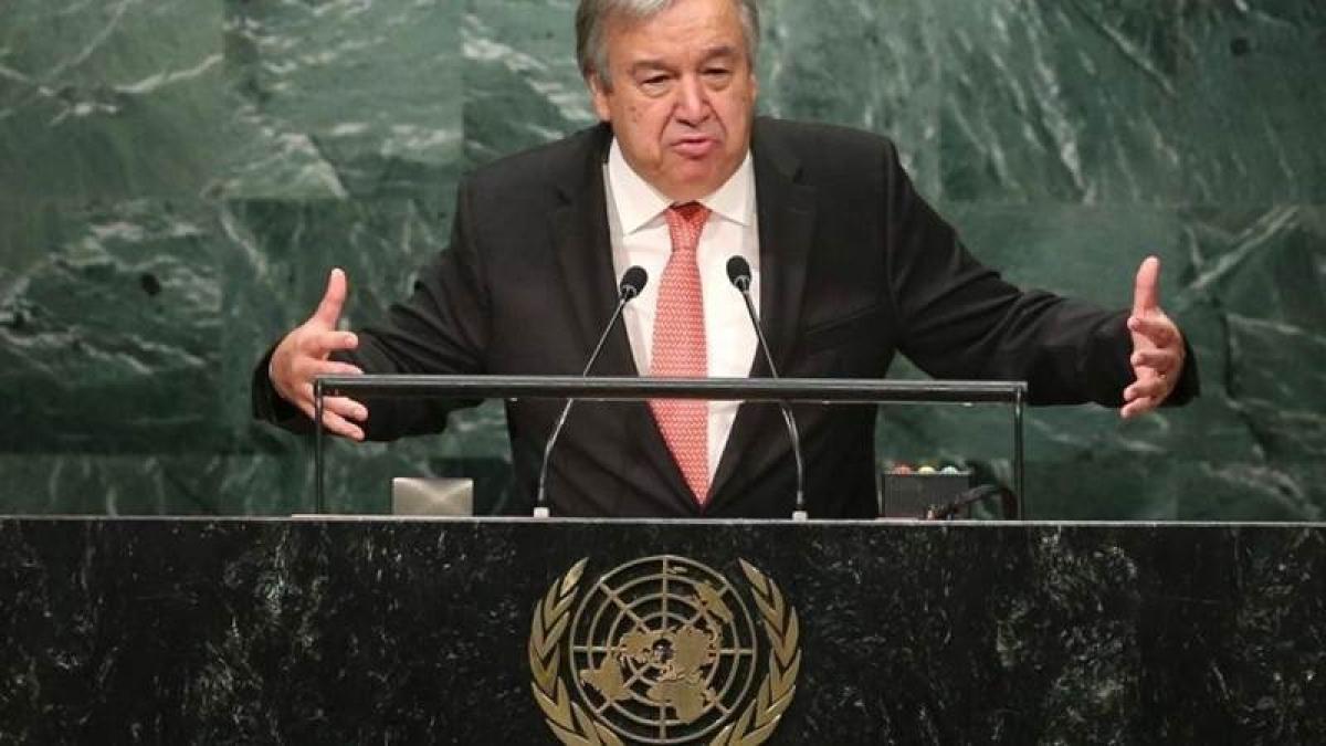 New UN chief wants consensus but faces antagonistic Trump