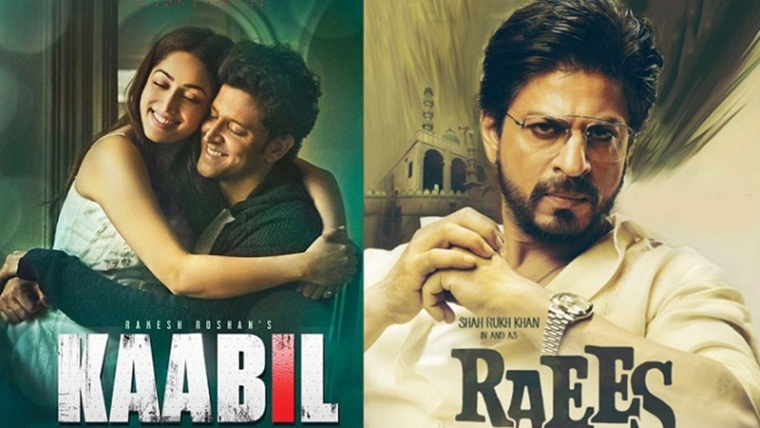 Raees vs Kaabil: Shah Rukh leads Hrithik in advance ticket booking