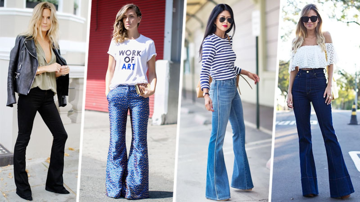 Denim flare How to wear this 70's trend right