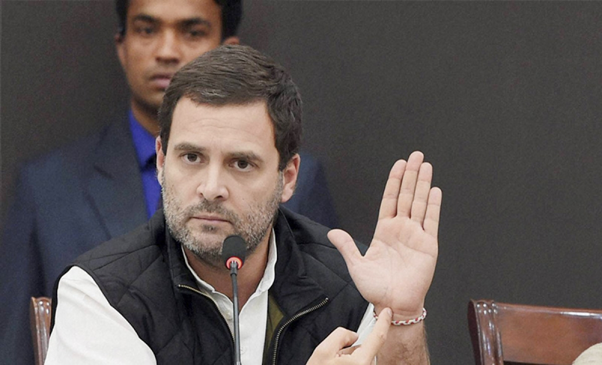 Rahul asks PM to compensate people's loss