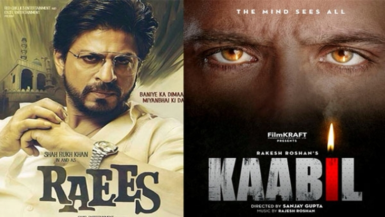 'Raees vs Kaabil: SRK leads over Hrithik