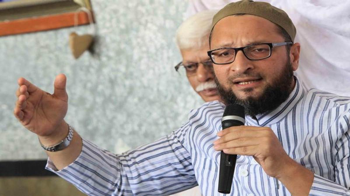 Triple talaq bill a tactic to punish Muslim men: Owaisi