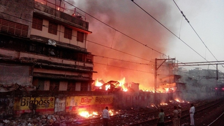 CST-Masjid Bunder fire: A kite was the reason for break out of fire