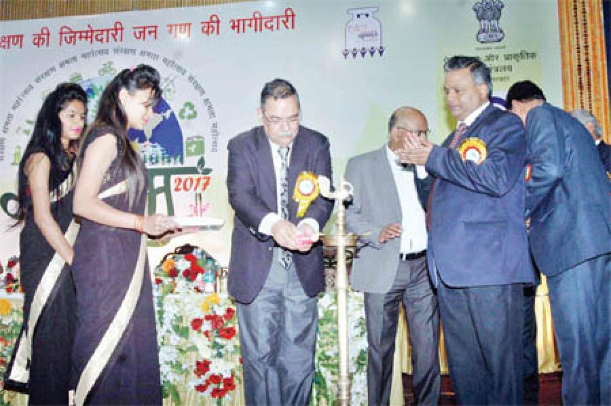 Bhopal: DGP inaugurates Saksham-2017 at Samanwaya Bhavan