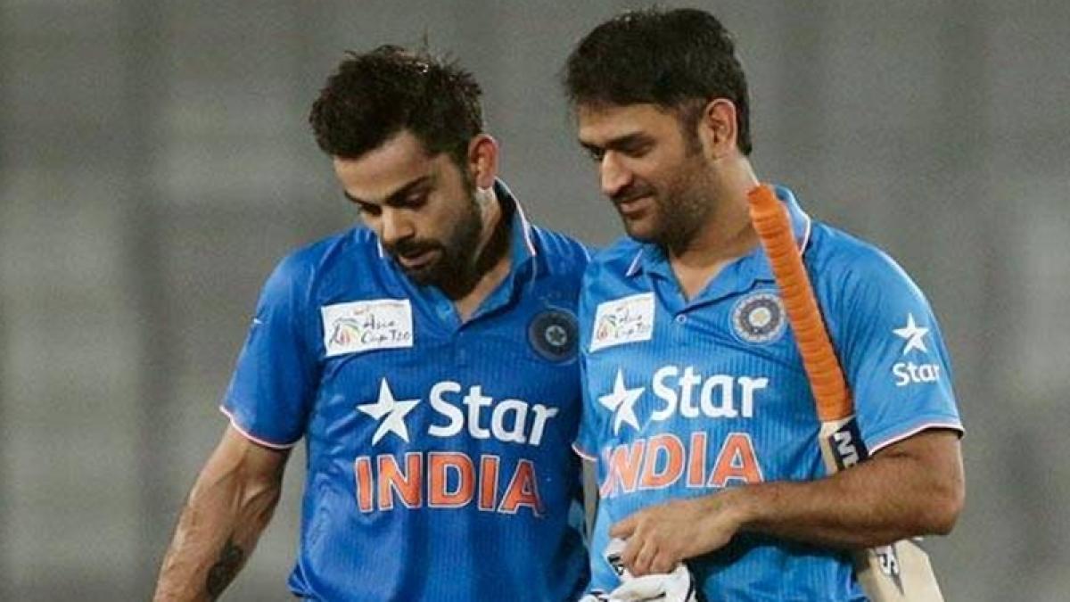 Virat Kohli almost a legend: MS Dhoni after Indian skipper's heroics in 1st Test against England