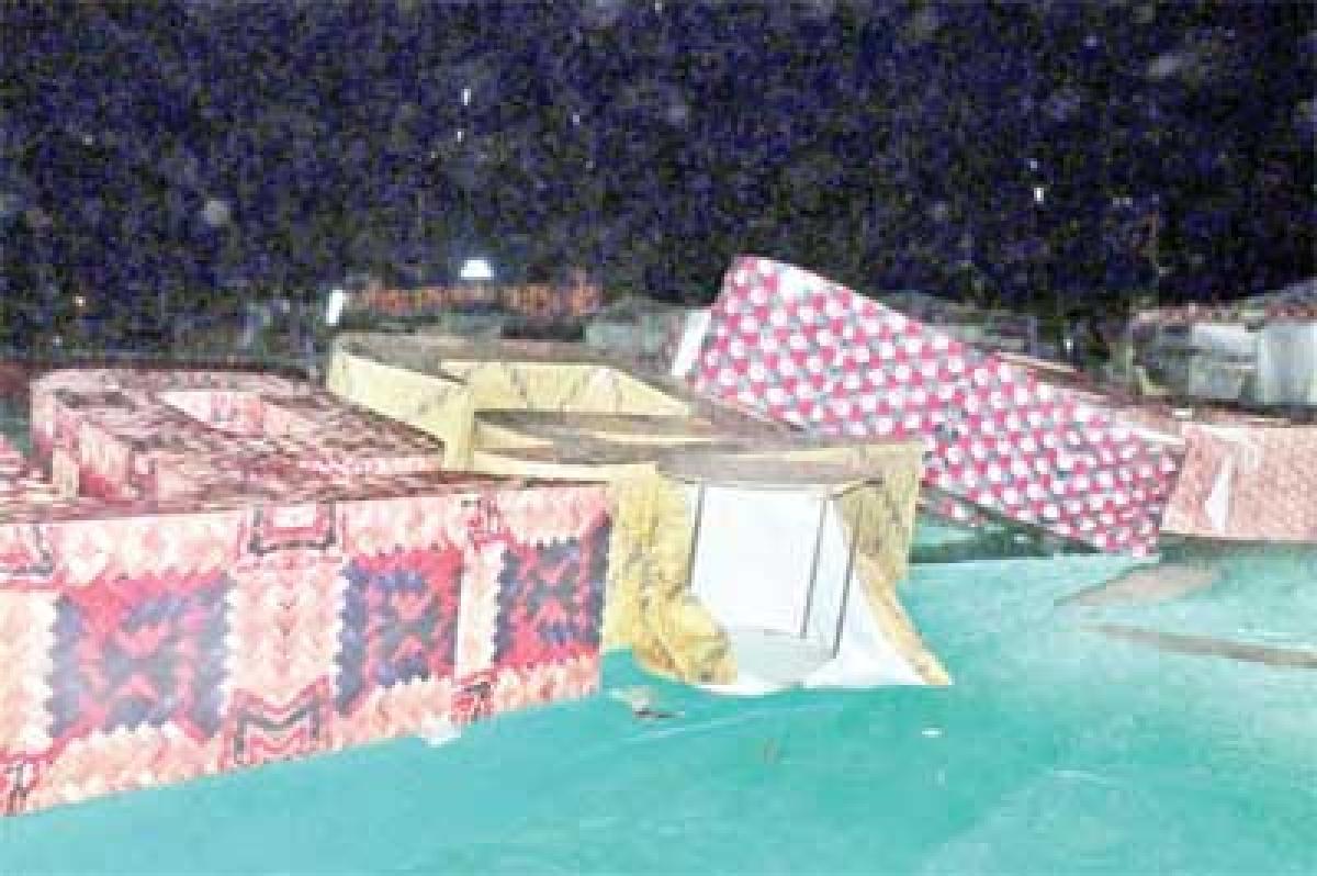 Bhopal: Hailstorm, rains ruin Lok Rang, expose mismanagement
