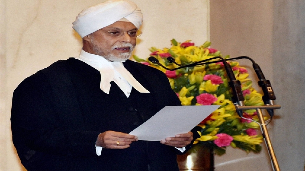 Justice Jagdish Singh Khehar sworn in as 44th Chief Justice of India