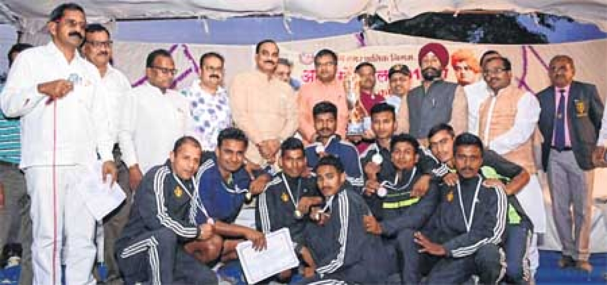 Ujjain: Territorial Army wins Federation Cup